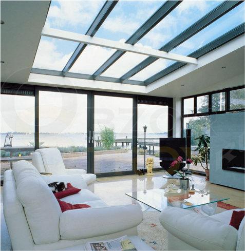Профиль встроенный в общую крышу